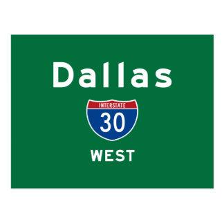 Dallas 30 postcard