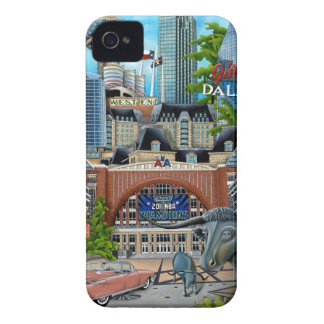 Dallas-3 iPhone 4 Case-Mate Case