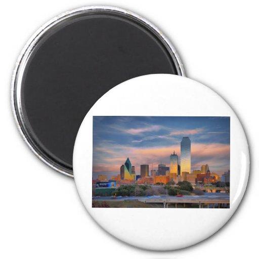 Dallas #5306 2 inch round magnet