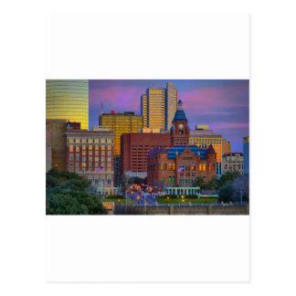 Dallas #5351 post cards