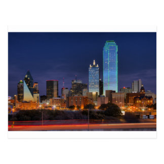 Dallas #5433 post card