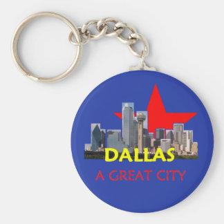 DALLAS A Great City Keychain