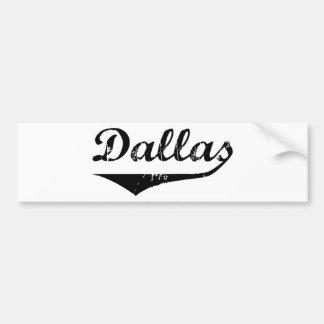 Dallas Bumper Sticker