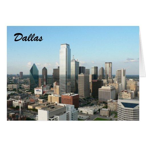 Dallas céntrica tarjetas