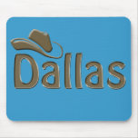 dallas - changeable background color mouse pad