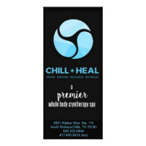 Dallas Chill   Heal Rackcard Rack Card