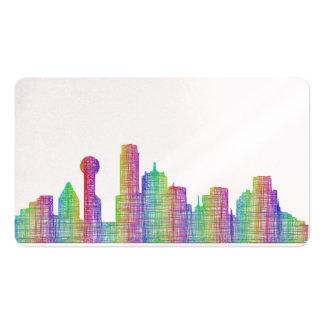 Dallas Skyline Business Cards & Templates
