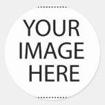 Dallas Cityscape Classic Round Sticker