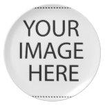 Dallas Cityscape Melamine Plate
