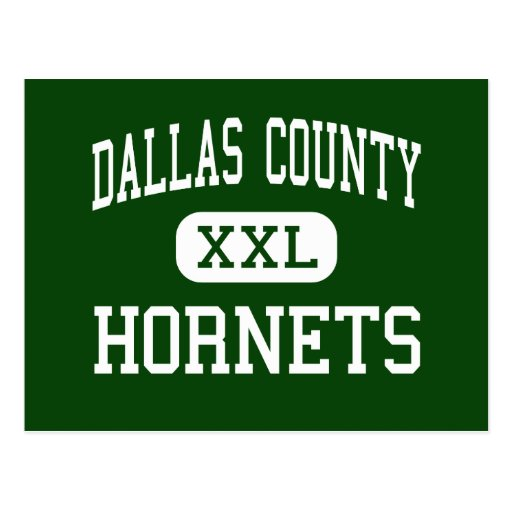 Dallas County - Hornets - High - Plantersville Postcard