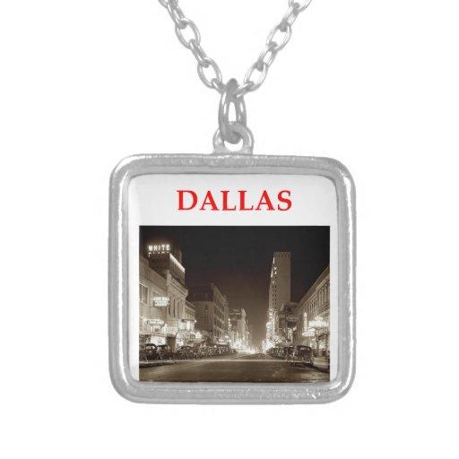 dallas custom necklace