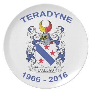 Dallas Customer Request Ter Melamine Plate