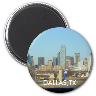 dallas - Customized 2 Inch Round Magnet
