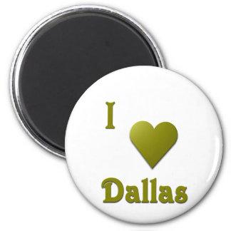 Dallas -- Deep Green Magnets