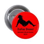 Dallas Diesel Commemorative 2010 Button