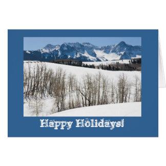 Dallas Divide Winter Photo Holiday Card