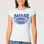 Dallas domingo Funday Camisas