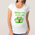 Dallas Fan on the way Maternity T-Shirt