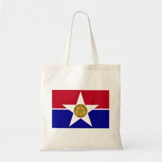 Dallas Flag Tote Bags