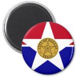 Dallas Flag Magnet