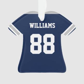 Dallas Football Jersey Ornament