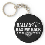 Dallas Has My Back Keychain