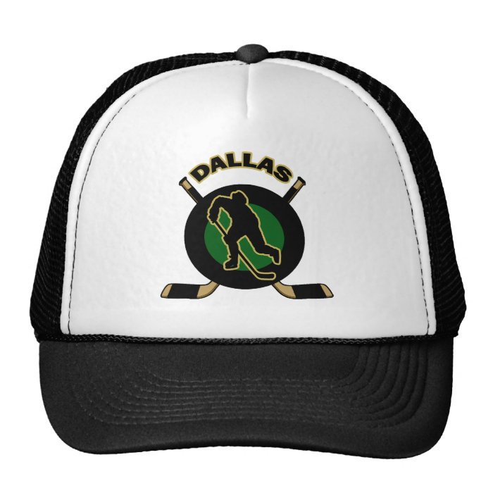 DALLAS HOCKEY TRUCKER HAT