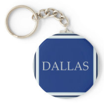 Dallas Keychain