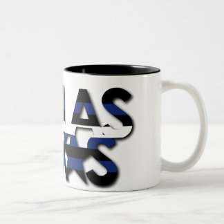 Dallas Leather Stripe Mug