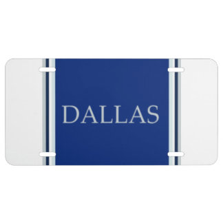 Dallas License Plate