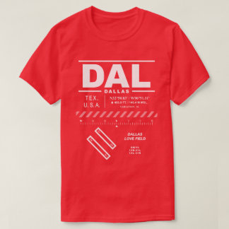 Dallas Love Field Airport DAL T-Shirt