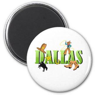 Dallas Refrigerator Magnet