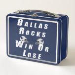 Dallas Metal Lunch Box