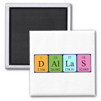 Dallas periodic table name magnet