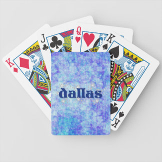 DALLAS POKER CARDS
