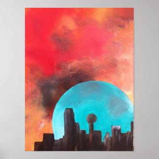 Dallas por claro de luna poster