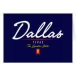 Dallas Script Stationery Note Card