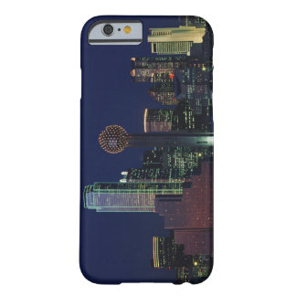 Dallas Skyline at Night Barely There iPhone 6 Case