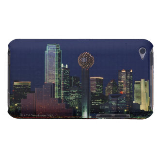 Dallas Skyline at Night iPod Touch Cover