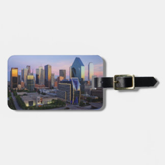 Dallas Skyline Bag Tag