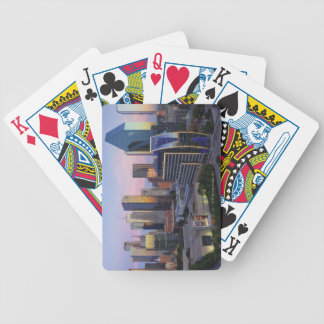 Dallas Skyline Bicycle Playing Cards