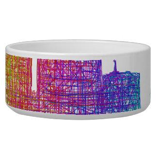 Dallas skyline bowl
