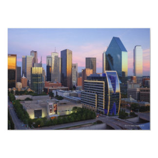Dallas Skyline Card