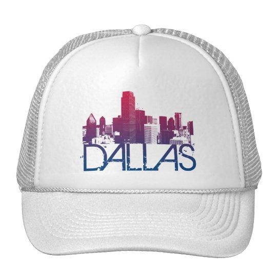 Dallas Skyline Design Trucker Hat