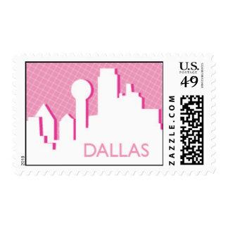 Dallas Skyline Postage
