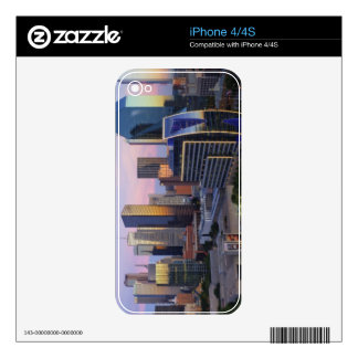 Dallas Skyline Skin For The iPhone 4S