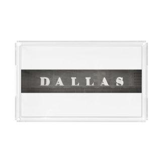 Dallas (small vanity tray) acrylic tray