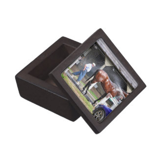 Dallas Stewart Stables Keepsake Box