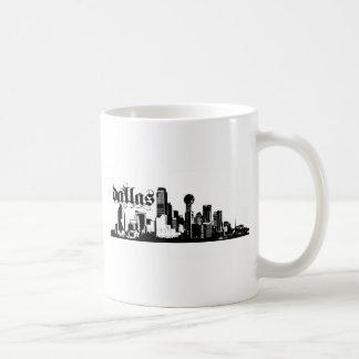 Dallas Tejas puesto para su ciudad Taza Clásica