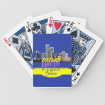 DALLAS TEXAS BICYCLE PLAYING CARDS
